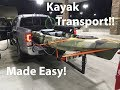 Transporting my Kayak!
