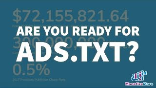 Are you ready for Ads.txt - MonetizeMore Webinar Mp3