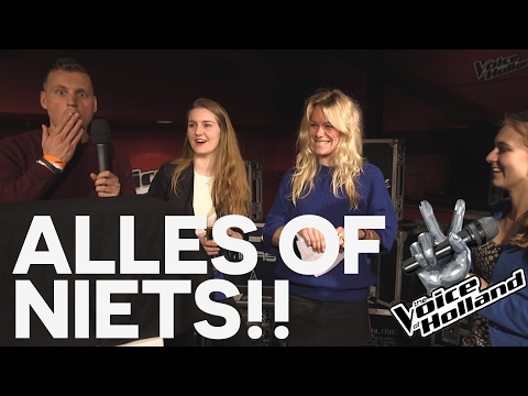ALLES OF NIETS voor een THE VOICE OF HOLLAND vipticket - CONCENTRATE