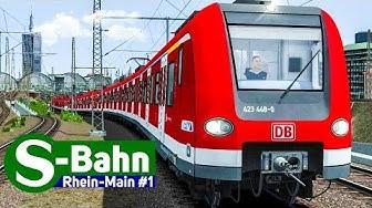 Train Simulator 2018: S-BAHN Rhein-Main #1 - Auf der S6 mit der S-BAHN BR 423 nach Frankfurt HBF!
