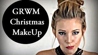 *** Get Ready With Me - Christmas MakeUP *** Świąteczny Makijaż *** Thumbnail