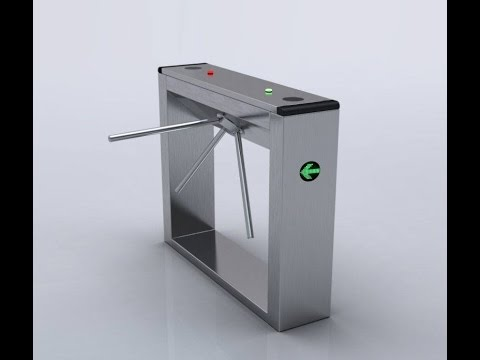 Turnstile Gate drop arm automatic & Turnstile Gate drop arm automatic - YouTube