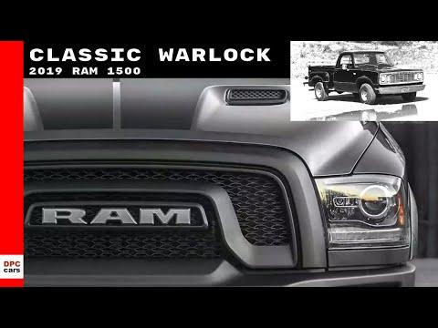 2019 Ram 1500 Classic Warlock