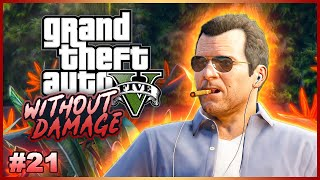 Completing GTA V Without Taking Damage? - No Hit Run Attempts (One Hit KO) #21