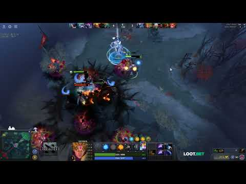 Dread's stream | Dota 2 - Invoker / Viper / Witch Doctor | 09.11.2017