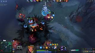 Dread's stream | Dota 2 - Invoker / Viper / Witch Doctor | 09.11.2017