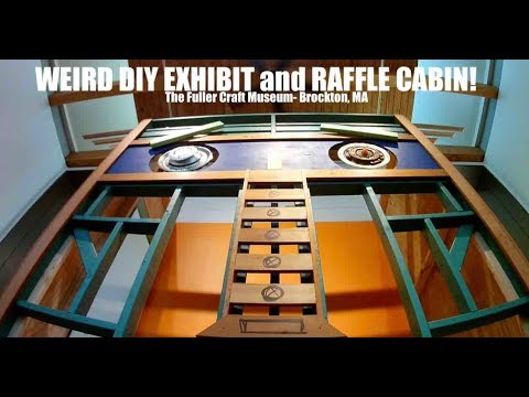 WEIRD DIY and Cabin-Writer's Shed- Art Studio Raffle! (Tiny House Clubhouse)