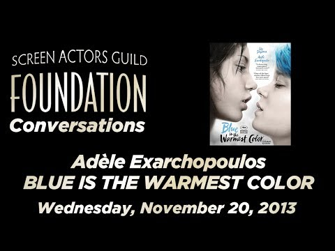 Conversations with Adèle Exarchopoulos of BLUE IS THE WARMES