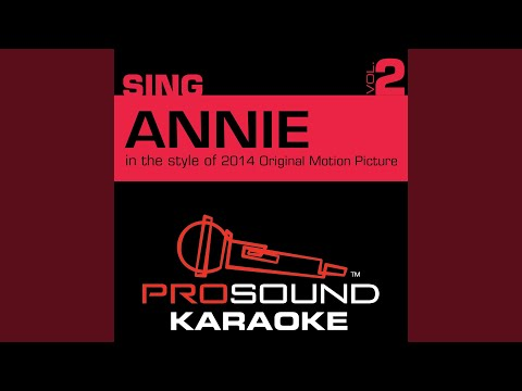 It's the Hard-Knock Life (In the Style of Annie Cast 2014) (Karaoke with Background Vocal)