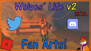 ROBLOX - Wolves' Life Beta v2 - Fan Arts! #27 - HD