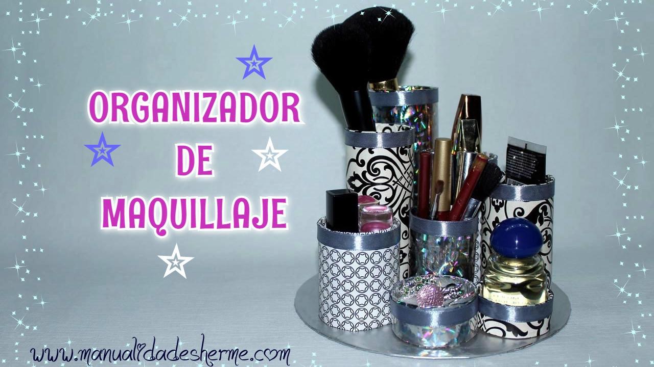 Organizador de maquillaje casero youtube - Como hacer un organizador de zapatos casero ...