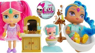 shimmer and shine morning routine