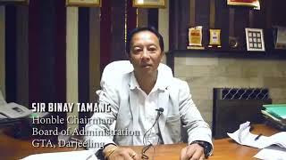 Eid Greetings From GTA Chairman  Darjeeling....
