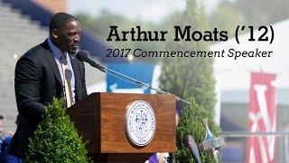 Arthur Moats - 2017 JMU Commencement Address