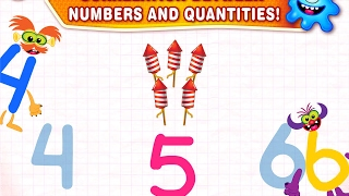 SuperNumbers! Learn to count from 1 to 10! Learning Game for Kids