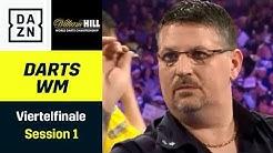 """Kann """"The Flying Scotsman"""" Gary Anderson gestoppt werden?   Darts WM   Viertelfinale   Session 1"""