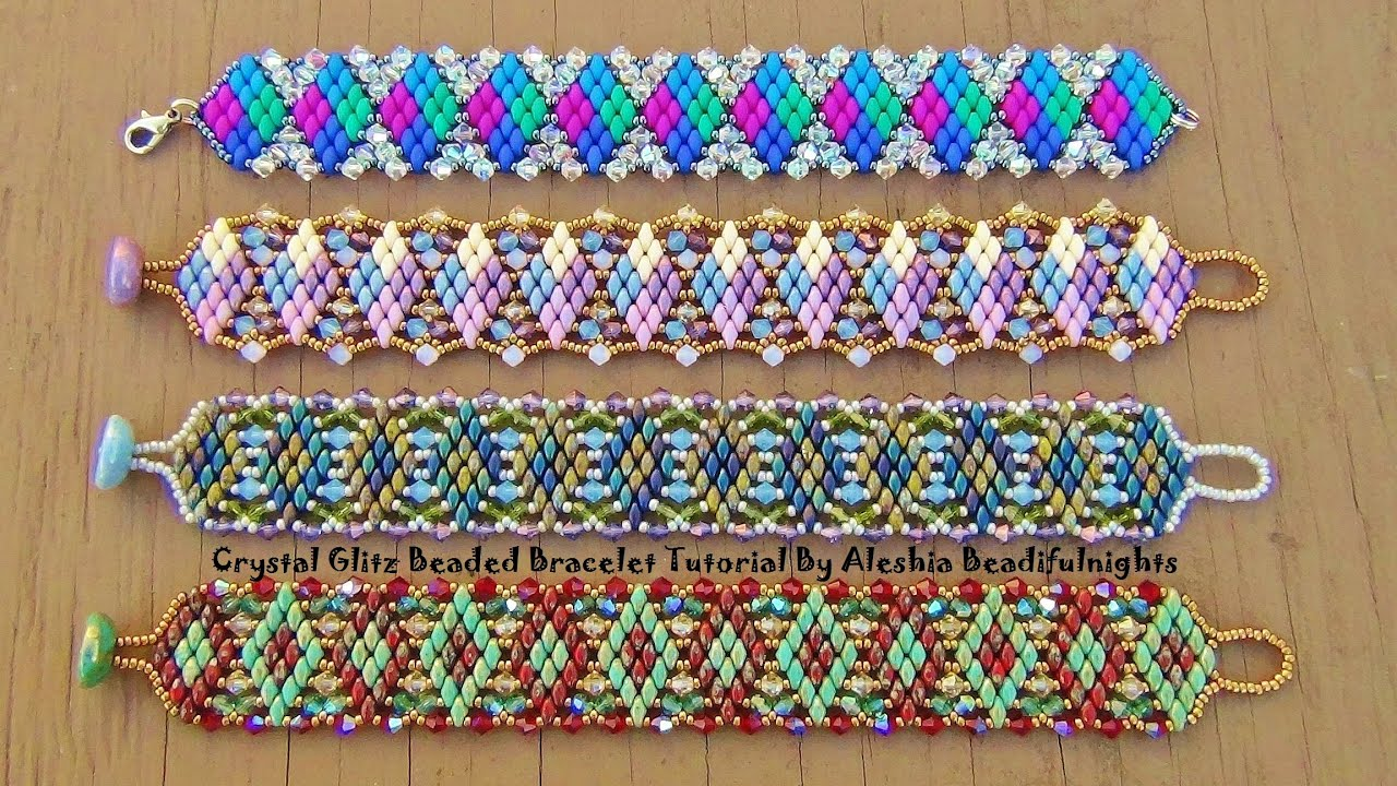 purl woven jewellery create beaded soho bracelets