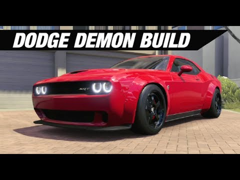 Dodge Demon 999hp Challenger Build Forza Horizon 3 Doovi