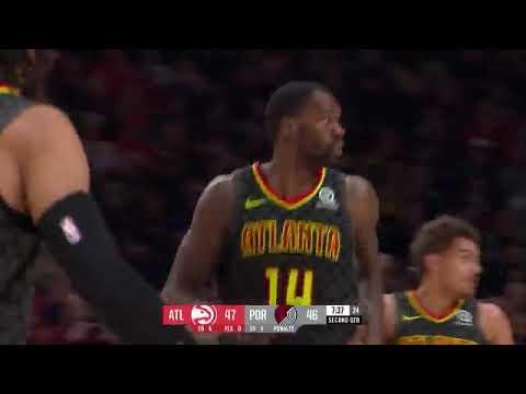 CJ McCollum, Trae Young Highlights from Portland Trail Blazers vs. Atlanta Hawks