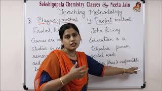 Teaching Methodology part 1 PGT Chemistry KVS NVS DSSSB