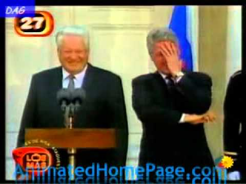 Смотреть Ельцин пьяный -