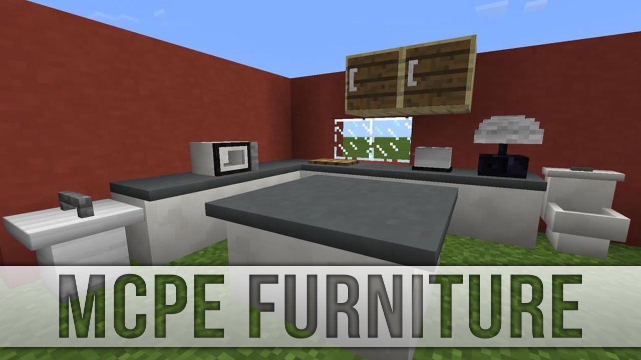 Mrcrayfish S Furniture Mod Update 31 Kitchen Furniture Mcpe