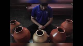 "Sarvesh Karthick's JINGLE BELLS on Ghatam - ""Merry Christmas"""