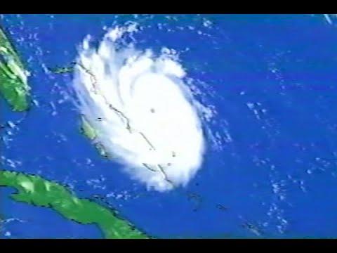 WTVJ TV NBC 4 Miami Hurrincane Andrew Watch August 22, 1992