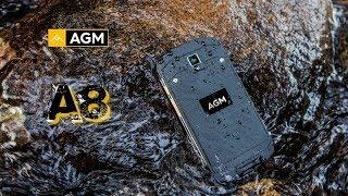 распаковка и полный обзор смартфона AGM A8