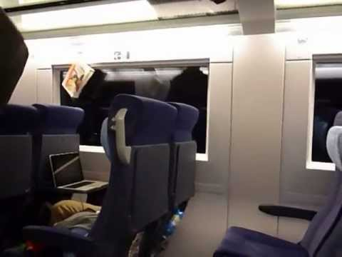 Thank you for travelling with Deutsche Bahn - Ansage im ICE