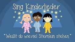 Weißt Du, wieviel Sternlein stehen - Schlaflieder zum Mitsingen | Sing Kinderlieder
