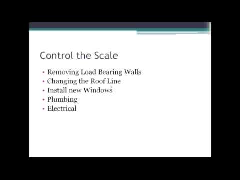 Omaha Remodeling Control Job Scale