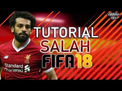 MOHAMED SALAH - LIVERPOOL TUTORIAL DE FACE/VIRTUAL PRO FIFA 18