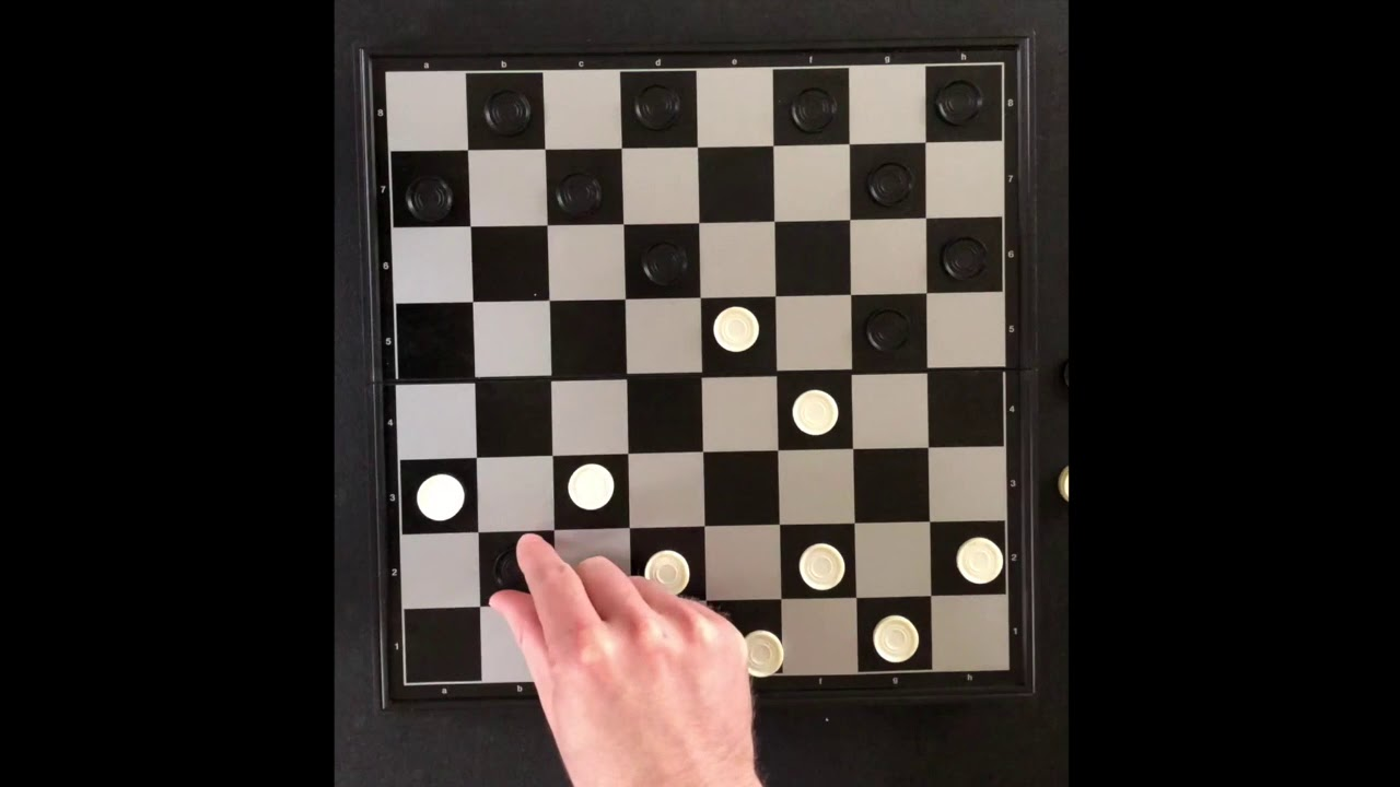 How to play checkers 7