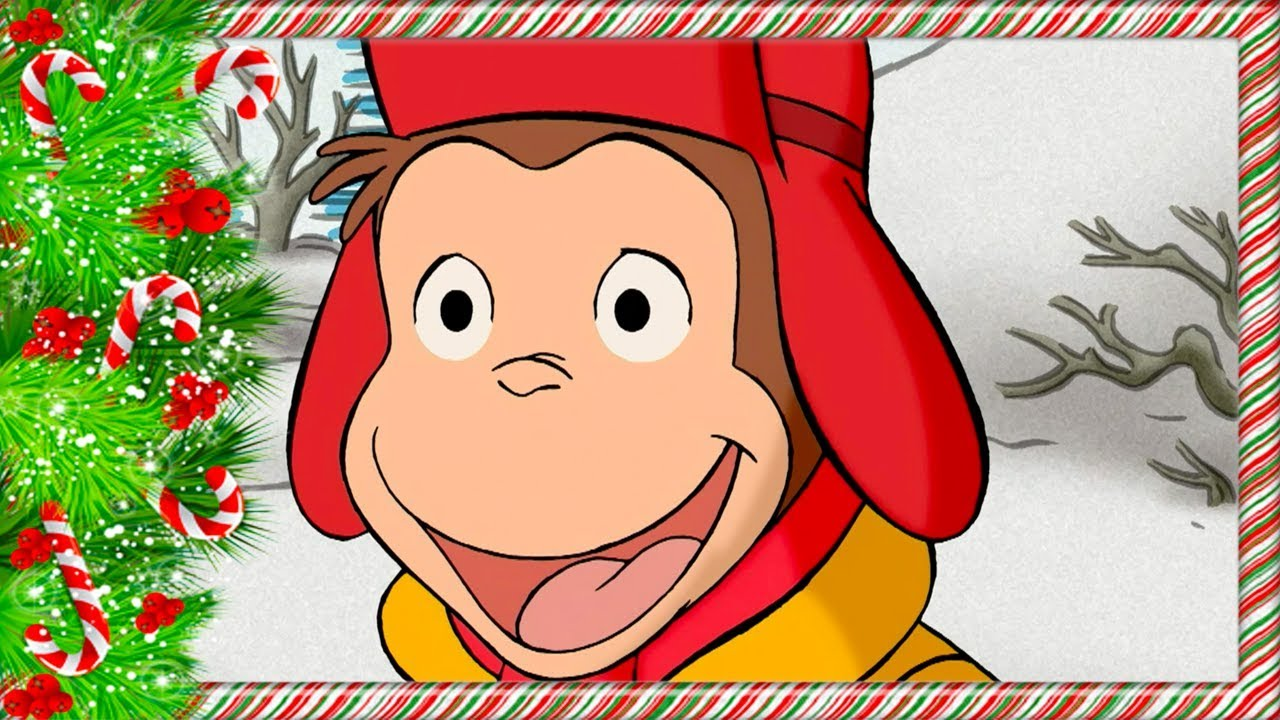 Curious George Christmas.Curious George Christmas Special Snowy Compilation Kids Cartoon Kids Movies Cartoons For Kids