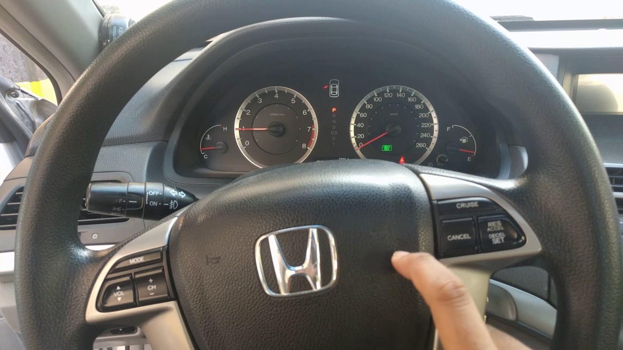2009 Honda Accord Not Starting   Battery Problem
