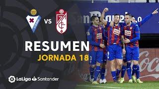 Resumen de SD Eibar vs Granada CF (3-0)