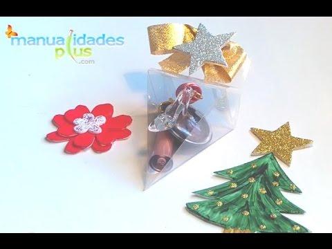 cajas para colgar para navidad