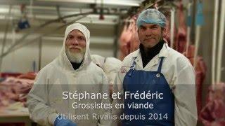 Témoignage Client Rivalis - Stéphane & Frédéric - grossistes en viande