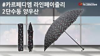 카르페디엠 라인페이즐리 2단 수동 양우산