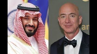 Saudi Crown Prince hacked Jeff Bezoss phone Report