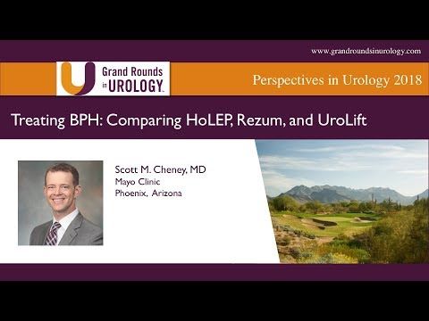 Treating BPH  Comparing HoLEP, Rezum, And UroLift