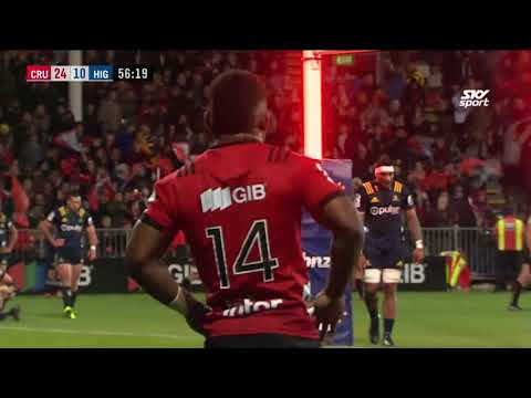 ROUND 9: Crusaders v Highlanders, Orangetheory Stadium, Christchurch
