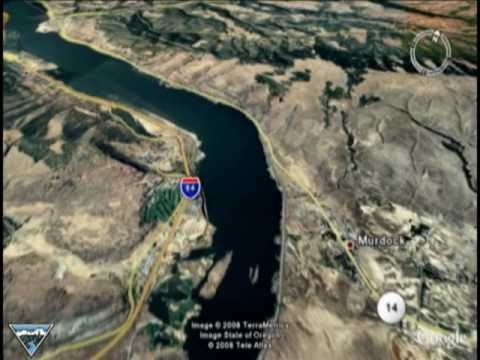 Columbia River Google Earth Dam Tour