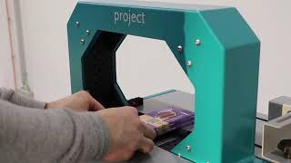 Sarco Packaging Proband V1000 semi-automatisch banderolleren