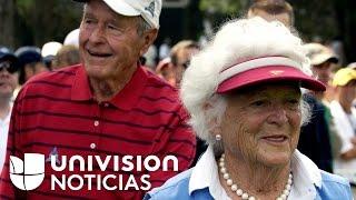 George W.H. Bush y su esposa se encuentran hospitalizados y no asistirán a la posesión de Donald Tru