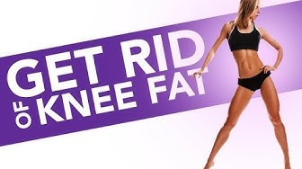 How To Get Rid of KNEE FAT (Quads Workout for Women!!)