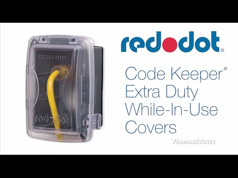 red dot code keeper extra duty while in use covers youtube
