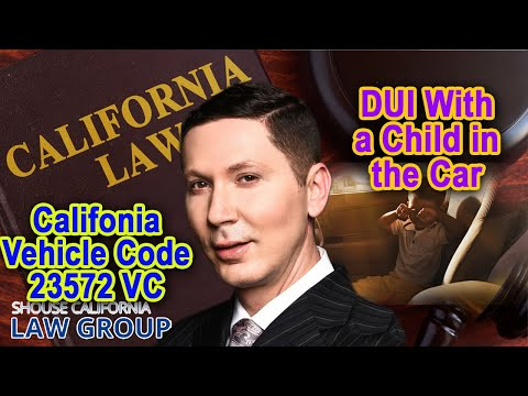 DUI with a child in the car? (Legal Analysis)
