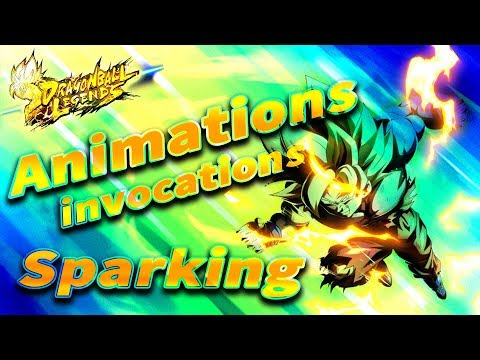 DB LEGENDS, AVOIR UN SPARKING GARANTI!? ANIMATION INVOCATION! DRAGON BALL LEGENDS - FR